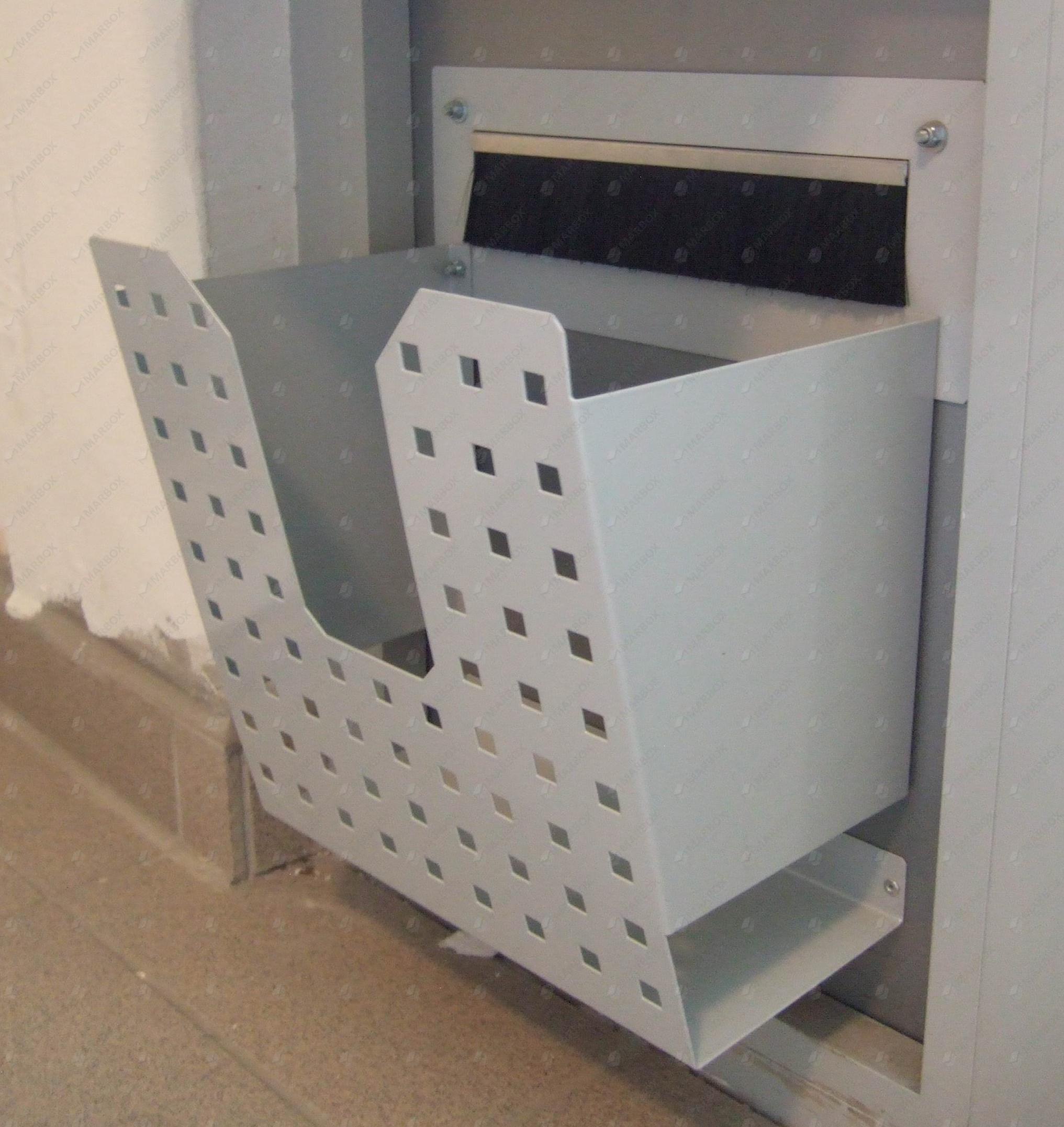 doplnky k poštovým schránkam: koše na letáky
